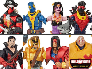 PRE-ORDER Deadpool Marvel Legends 6-Inch Action Figures Wave 3 SET OF 7
