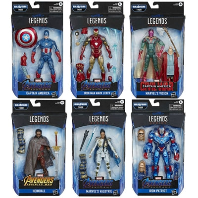 PRE-ORDER Marvel Legends Avengers Endgame Wave 3