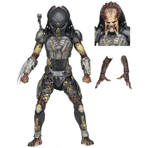 "NECA Predator Movie Ultimate Fugitive Predator 7"" Action Figure"