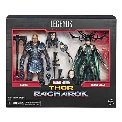 Marvel Legends 80th Thor Ragnarok Hela & Skurge 6