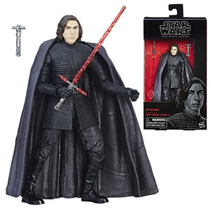 Star Wars The Black Series Kylo Ren The Last Jedi 6-Inch Action Figure