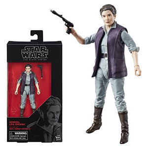Star Wars The Black Series General Leia 6-Inch Action Figure