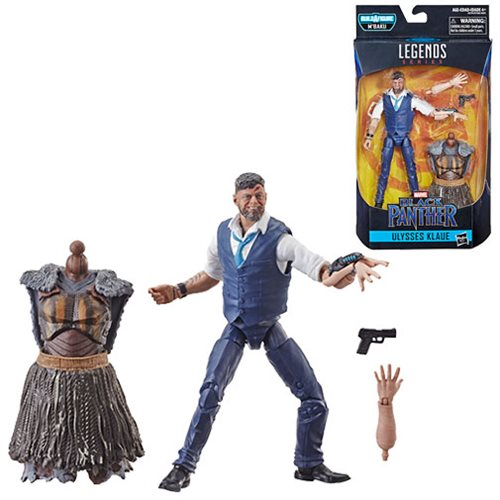 Marvel Legends Black Panther M'Baku Wave Ulysses Klaue 6