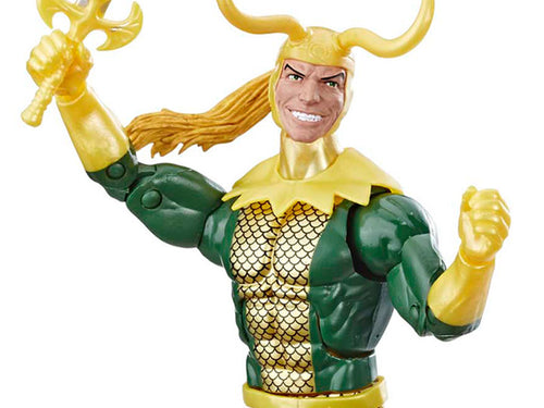 Marvel Legends Avengers Hulk Wave Loki Action Figure LOOSE
