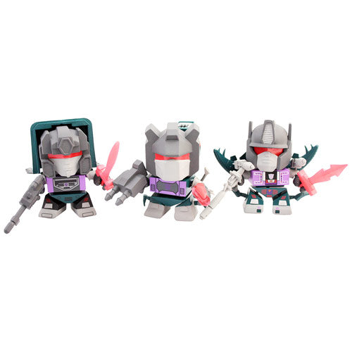 Transformers Shattered Glass Evil Dinobot 3-Inch Action Vinyl Figure 3-Pack - SDCC 2014 Exclusive