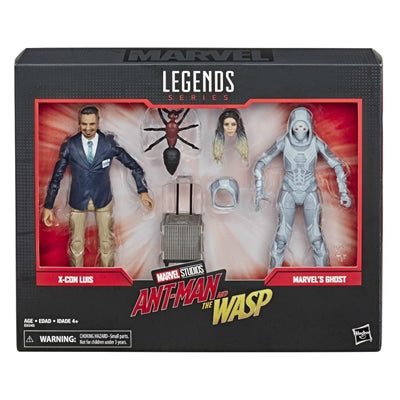 Marvel Legends 80th Ant-Man Ghost & Luis 6