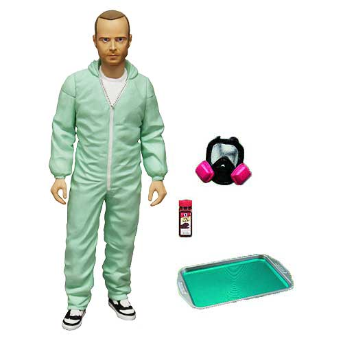 Breaking Bad Jesse Pinkman in Blue Hazmat Suit 6-Inch Action Figure - Previews Exclusive