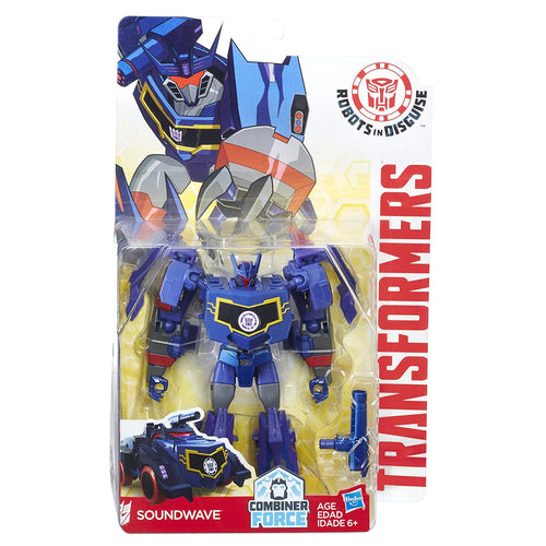 Transformers TRA RID Warrior Soundwave Action Figure