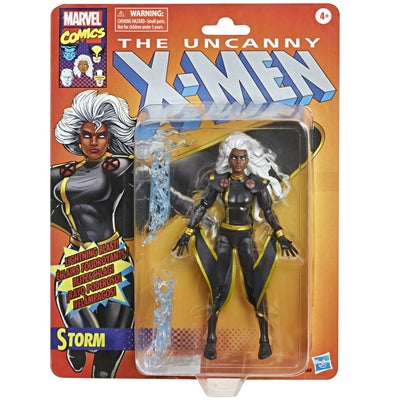 The Uncanny X-Men Marvel Legends Retro Collection Storm (Black Suit)