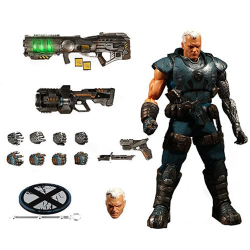 X-Men Cable One:12 Collective Action Figure - Free Shipping