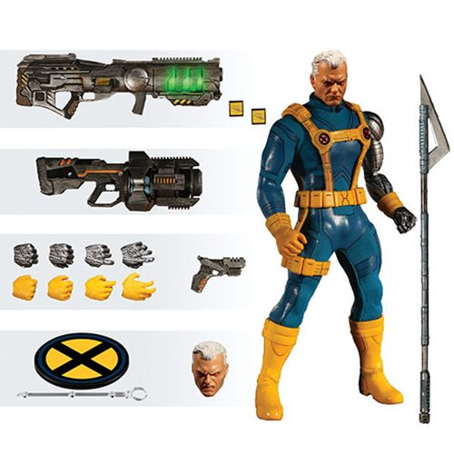 PRE-ORDER  X-Men Cable 1990s Costume One:12 Collective Action Figure - Previews Exclusive - Free Shipping