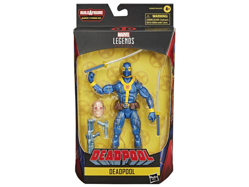PRE-ORDER Deadpool Marvel Legends Deadpool (Blue) (Strong Guy BAF)