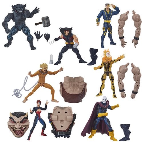 PRE-ORDER Marvel Legends X-MEN AOA Sugar Man Wave Set of 7 Action Figures
