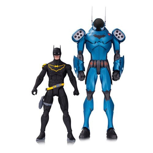 DC Comics Designer Series GCPD Batman by Greg Capullo Action Figure 2-Pack