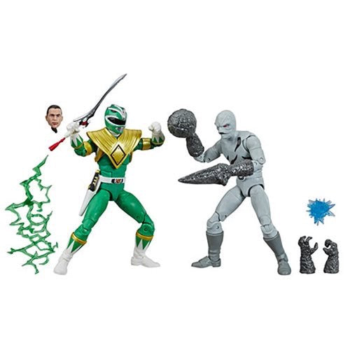 PRE-ORDER Power Rangers Lightning Collection Green Ranger vs. Putty Patrol 6-Inch Action Figures
