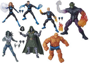 PRE-ORDER MARVEL LEGENDS FANTASTIC FOUR SUPER SKRULL WAVE