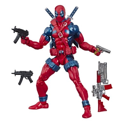 PRE-ORDER X-Men X-Force Retro Marvel Legends 6-Inch Deadpool Action Figure - Exclusive