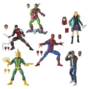 PRE-ORDER Spider-Man Retro Marvel Legends 6-Inch Action Figures Wave 1