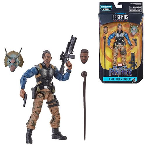 Marvel Legends Black Panther M'Baku Wave Killmonger Military 6