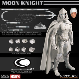 PRE-ORDER  MOON KNIGHT FIGURE THE ONE:12 COLLECTIVE ACTION FIGURE-FREE SHIPPING