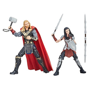 Marvel Studios: The First Ten Years Marvel Legends Thor & Sif Two-Pack