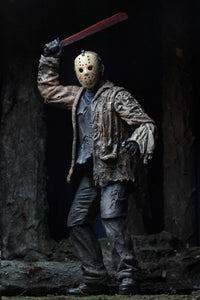 "PRE-ORDER Freddy vs Jason - 7"" Scale Action Figure - Ultimate Jason Voorhees"