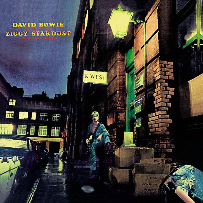 The Rise and Fall Of Ziggy Stardust And The Spiders From Mars (Black Vinyl)