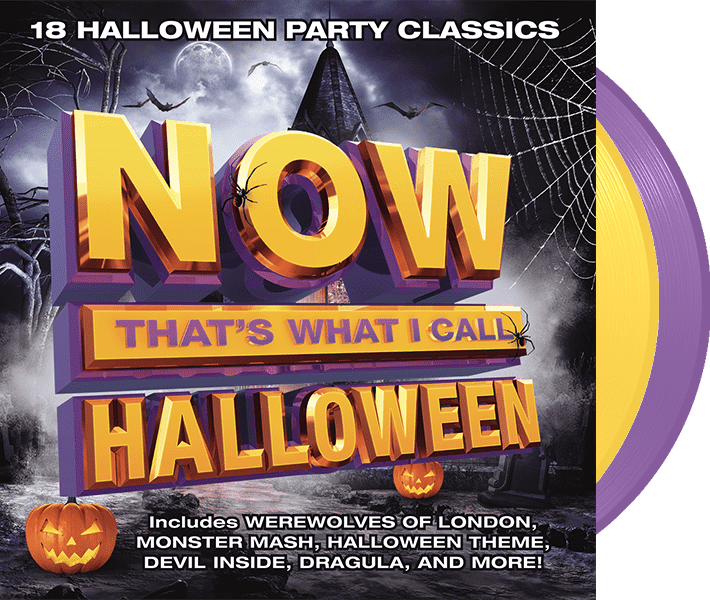 NOW That's What I Call Halloween (Purple/Orange 2LP Colored vinyl)