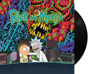 Rick and Morty Soundtrack (Black Vinyl)