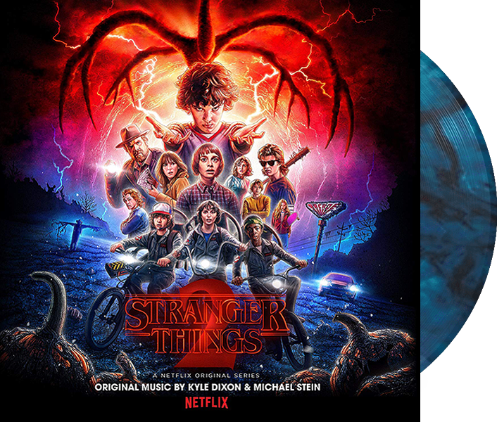 Stranger Things 2 Soundtrack (Blue Marbled Vinyl)