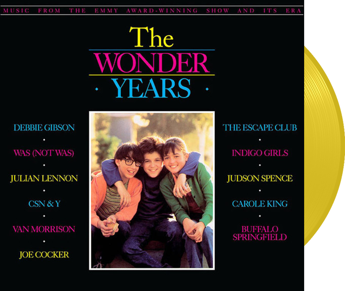 The Wonder Years Soundtrack (Limited Edition Yellow Vinyl)