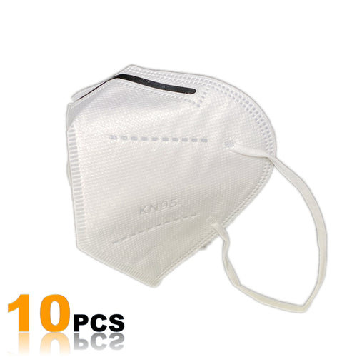 KN95 Protective Face Mask with Filtration >95% (10 Pack)