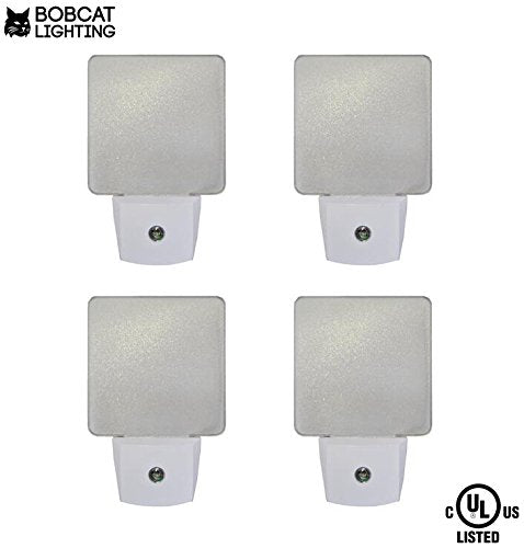 2x Led Night Light Automatic Dusk To Dawn Sensor For: LED Night Lights With Dawn To Dusk Sensor With