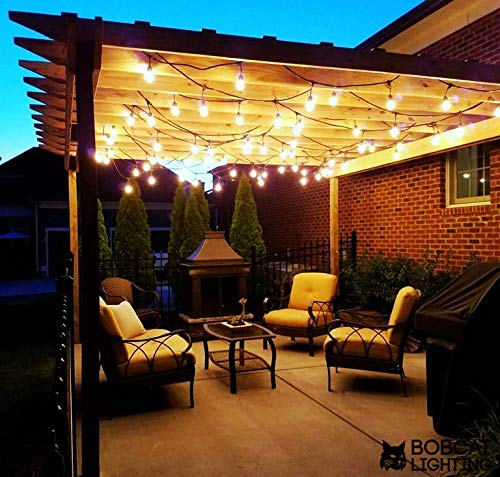 Modvera Outdoor String Light 48ft With 15 Sockets And Led 2w