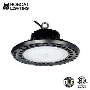 Bobcat LED High Bay Light,100W UFO High Bay Lighting (450W HID/HPS Equivalent) 13,000 Lumens, Daylight White 5000K, IP65 Waterproof, Garage, Warehouse,DLC ETL Listed, 5-Year Warranty