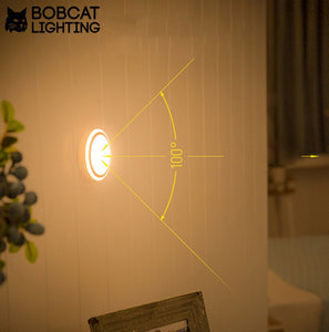 Bobcat Lighting-3 pack Battery-Powered Motion-Sensing LED Stick-Anywhere Nightlight With Beautiful Aesthetic Design