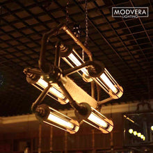 Modvera LED Filament Tube Bulb T30 Tubular Bulb Edison Antique Style 5 Watt with 40 watt Equivalent 2200K Glass E26 Base Dimmable