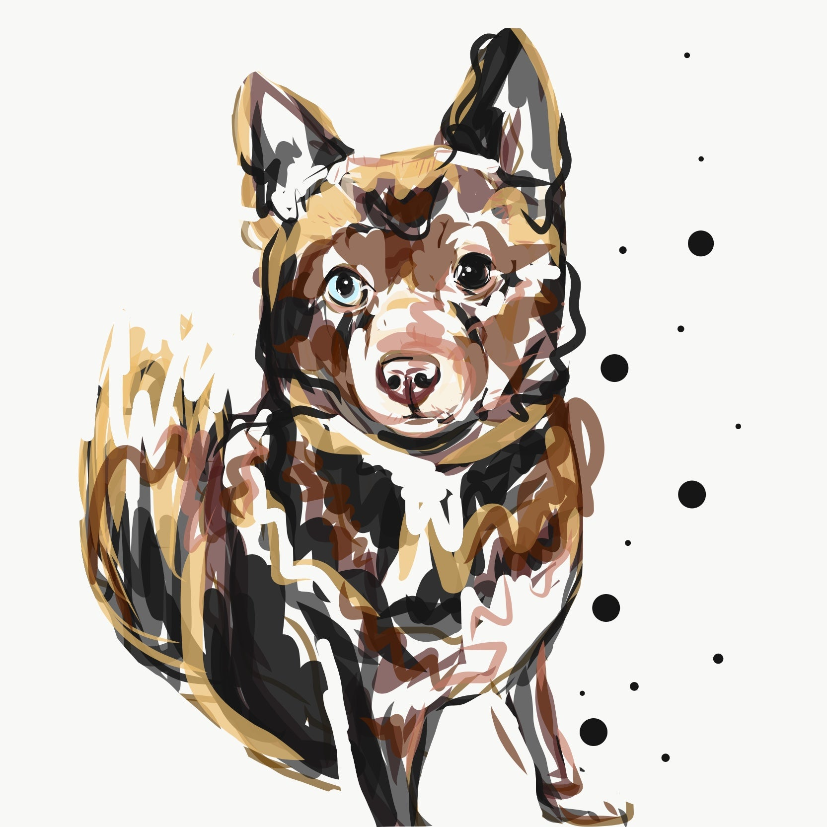 Custom Pet Illustrations