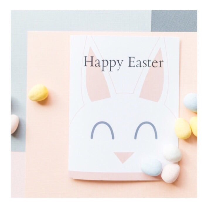 """Some Bunny"" greeting card"