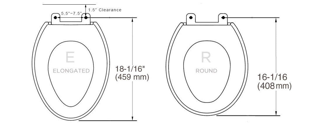 Toilet Seat Measurements Guide