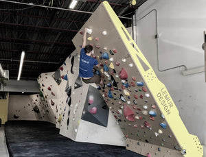 Lemur design offers adjustable training walls that are flat shipped to the end customer and can be installed by anyone.