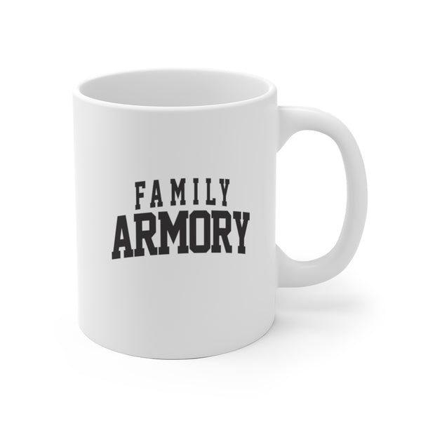 Content Supporter Coffee Mug // @familyarmory - FAMILY ARMORY RANGE STYLE