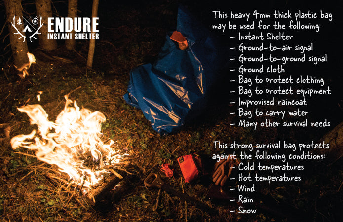 Endure Survival Instant Shelter | Top-Rated Shelter for Survival