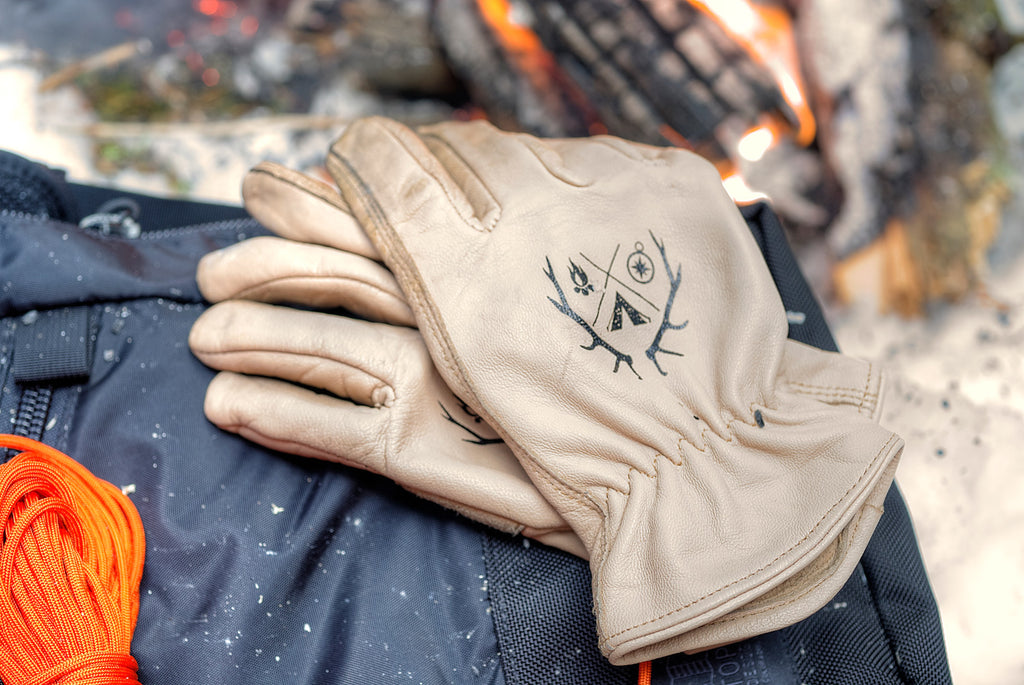 Endure Survival Goatskin Gloves | Water Resistant Work Gloves