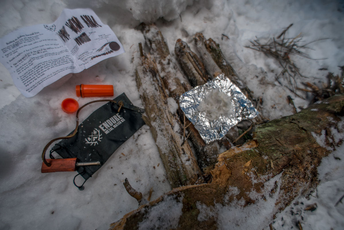 Endure Survival Metal Match Kit | Top-Rated Survival Fire Kit