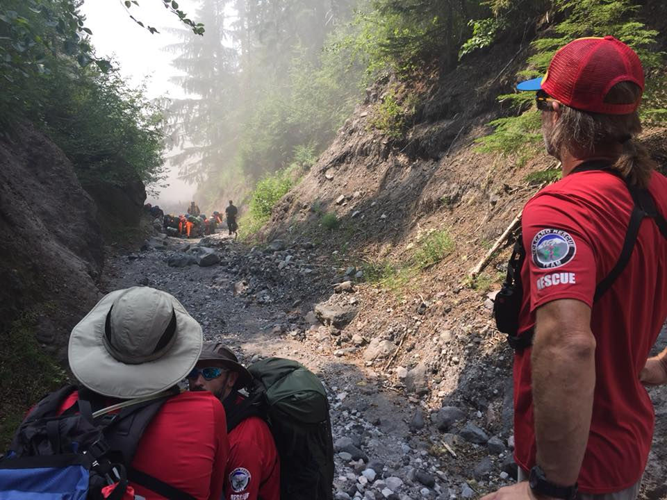 Search and Rescue Team who Rescued Matthew Meltheny