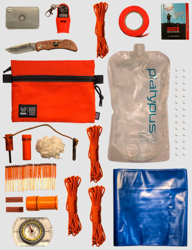 Comprehensive Wilderness Survival Kit