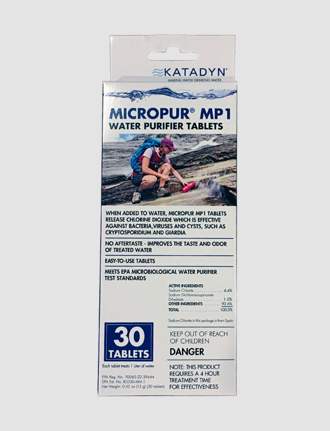 Katadyn Micropur MP1 Tablets