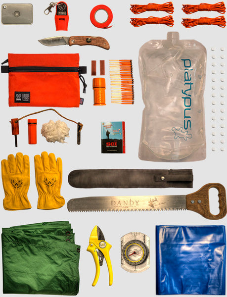 Professional Wilderness Survival Kit