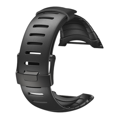 SUUNTO CORE STANDARD ALL BLACK ELASTOMER STRAP